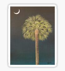 Palmetto Moonlight Sticker