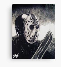 Jason Horror Movie Slasher Canvas Print
