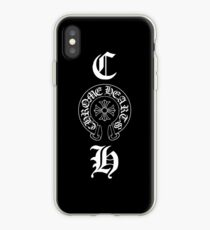 Vertical CH Initial + Emblem iPhone Case