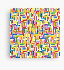 Colored pencil  Canvas Print