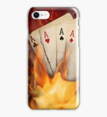 Poker cards iPhone Case/Skin