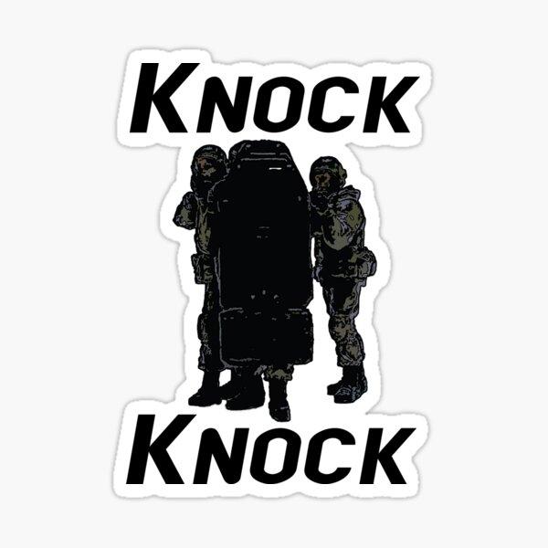 Knock, knock... Sticker