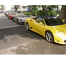 Car Collection Photographic Print