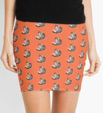 Norwegian Forest Cat Mini Skirt