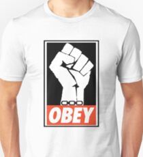 BIOSHOCK a man chooses a slave OBEYs  Unisex T-Shirt