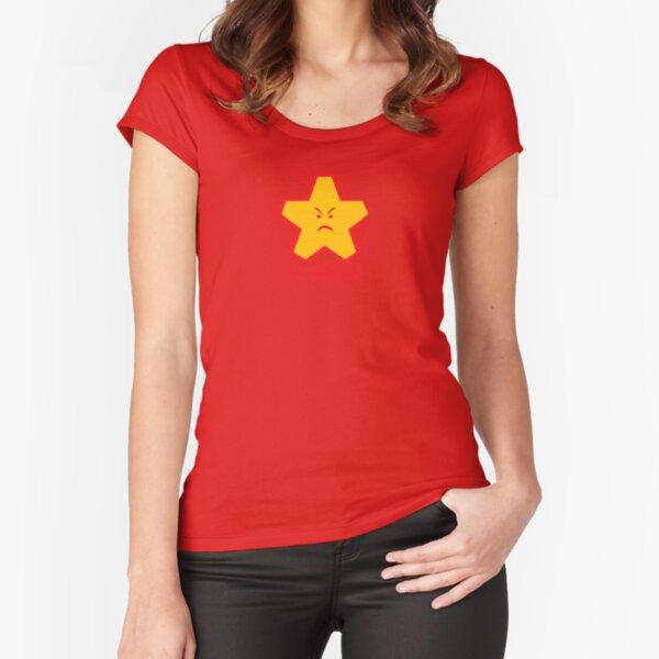 F ** K DU Tailliertes Rundhals-Shirt