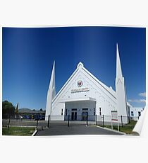 Church of Christ, Christchurch, New Zealand Poster