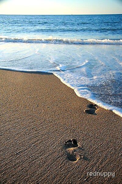 Footsteps by rednuppy