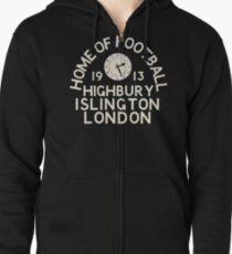 Highbury Zipped Hoodie