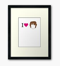 I love Bilbo Framed Print
