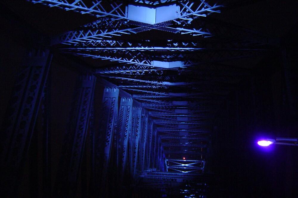 Inside Harbour Bridge 3 by Barry Ross