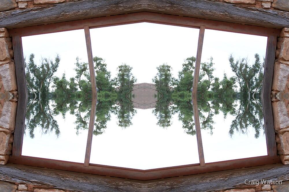 Kanyaka Ruins Kaleidoscope #1 by Craig Watson
