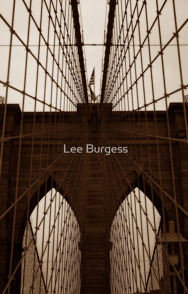 Brooklyn Bridge by Lee Burgess