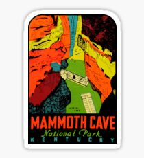 Mammoth Cave National Park Kentucky Vintage Travel Decal Sticker