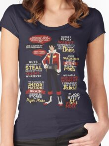 Keith Quotes Women's Fitted Scoop T-Shirt