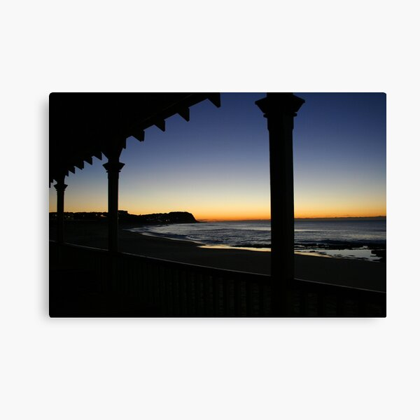 Merewether Beach at Dawn Canvas Print