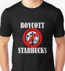 Boycott Star Bucks T-Shirt
