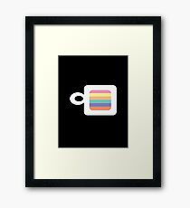 """coffee cup"" abstract Framed Print"
