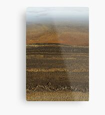 The Marble Shore Metal Print