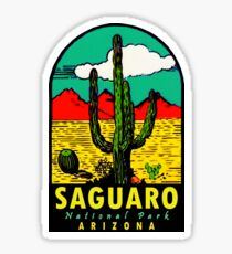 Saguaro National Park Arizona Vintage Travel Decal Sticker