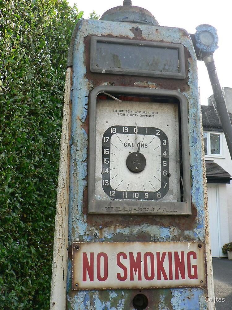 No smoking by Colitas