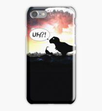 TIME PARADOX - DINO & CAT iPhone Case/Skin