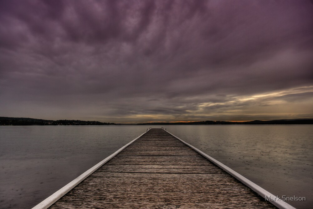 Warners Bay Sunset by Mark Snelson