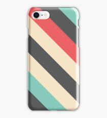 Retro Striped Pattern iPhone Case/Skin