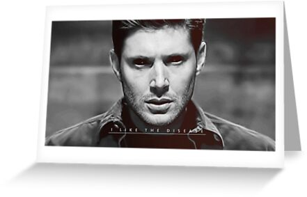 Supernatural Greeting Cards By Samantha Trudeau Redbubble