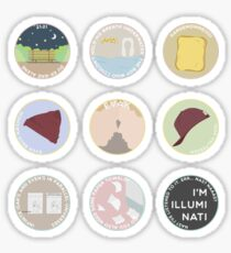 EVAK: A MINIMALIST LOVE STORY Sticker