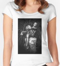 Satyr #1 Women's Fitted Scoop T-Shirt