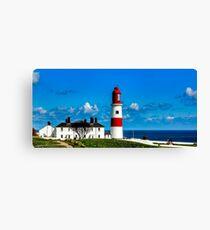 Souter Lighthouse Canvas Print