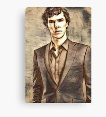 The Look of Deduction Canvas Print