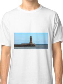 Roker Pier and Lighthouse Classic T-Shirt