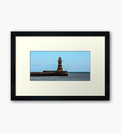Roker Pier and Lighthouse Framed Print
