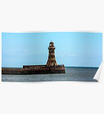 Roker Pier and Lighthouse Poster
