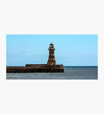 Roker Pier and Lighthouse Photographic Print