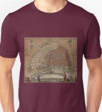 Vintage Antique Amsterdam Map Unisex T-Shirt