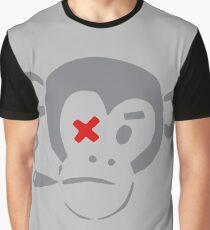 Smoking Monkey - X Graphic T-Shirt