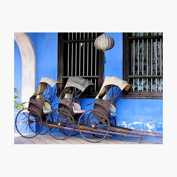 Rickshaws Photographic Print