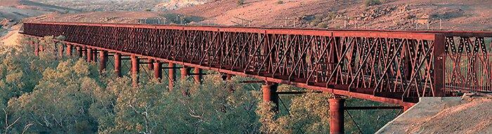 Algebuckina Bridge by Thomas Kress