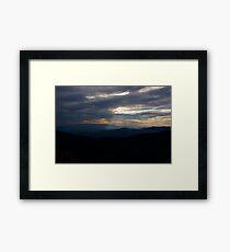 Blue Ridge Framed Print