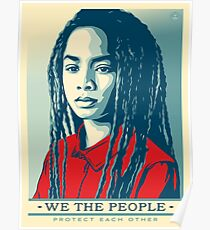 We the people protect each other Poster