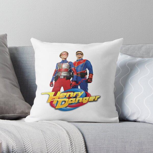 Henry Danger Heroes Throw Pillow