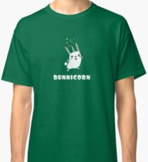 BunniCorn Unicorn Funny Bunny Rabbit Easter Cute Unique Kawaii Graphic Tee Shirt Classic T-Shirt