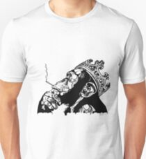 Smoking Monkey - KING T-Shirt