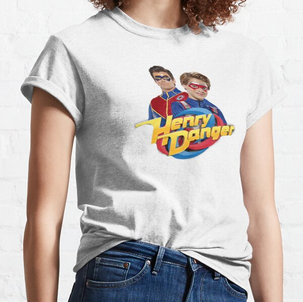 Henry Danger y Captain Man Camiseta clásica