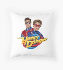 Henry Danger and Captain Man Throw Pillow