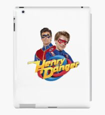 Henry Danger and Captain Man iPad Case/Skin