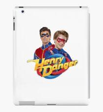 Henry Danger and Captain Man iPad Case/Skin